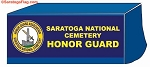 ..Custom TABLE COVER Banner - Saratoga National Cemetery Honor Guard