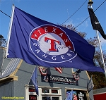 TEXAS RANGERS - Flag 5x8ft