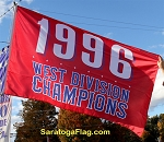 1996 West Division Champions - MLB Flag 5x8ft