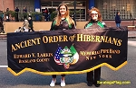 ...Custom PARADE BANNER- AOH Pipe Band- PRINTED POLY-Canvas