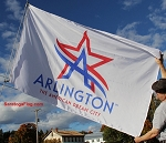 ARLINGTON CITY - MLB Flag 5x8ft
