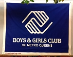.BOYS & GIRLS CLUB of Metro Queens- Custom FELT BANNERS