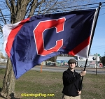 CLEVELAND INDIANS - C Flag 3x5ft