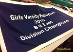 .GIRLS VARSITY VOLLEYBALL- Custom FELT BANNERS