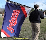 CLEVELAND INDIANS - Flag 3x5ft