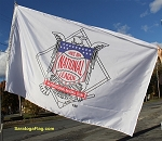 NATIONAL LEAGUE LOGO - MLB Flag 5x8ft