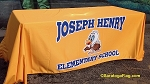 .JOSEPH HENRY ELEMENTARY SCHOOL- TABLE BANNER - Digital Print
