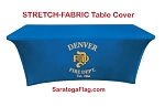 ..Custom TABLE COVER Banners - STRETCH-Digital Print