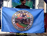 .Town of WILTON Flag - 3x5ft Nylon