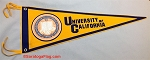 .University of California Berkeley- Custom FELT PENNANT