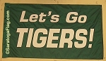 .LETS GO TIGERS- Team Spirit Flag