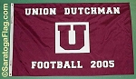.UNION COLLEGE DUTCHMAN- Football Flag
