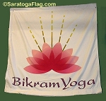 .BIKRAM YOGA- Digitally Printed BANNER