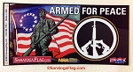 Sticker: Armed for Peace 3
