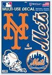 New York METS- DECAL SHEET 11x17 inch