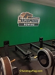 .SKIDMORE COLLEGE- Custom WALL DECAL- Rowing