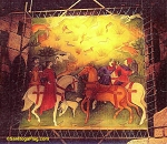 Painting- Backdrop - Medieval Hunt- Camelot