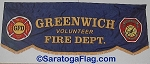 .GREENWICH VOLUNTEER FIRE DEPT PARADE BANNER