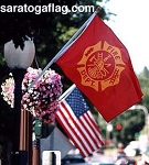 -FIRE DEPT FLAG