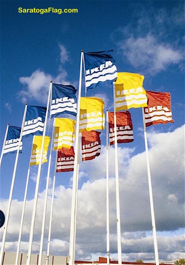 Flagpole Fiberglass Usa Kit Internal Halyard All Sizes