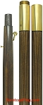 FLAGPOLE- Oak- Indoor Presentation 2 piece/ 7ft, 8ft, 9ft, 12ft