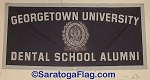 .GEORGETOWN UNIVERSITY DENTAL SCHOOL- Custom FELT BANNERS