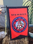 .Custom FIRE DEPT-NYLON GARDEN FLAGS - Digital Print