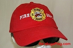 BALLCAP: Fire Department Hat - SOLD OUT