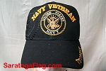 BALLCAP: NAVY Veteran Hat