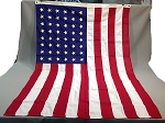 48 Star USA Flag- 4x6ft Cotton - New - Vintage