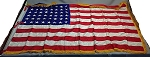 48 Star USA Flag- 4x6ft Rayon- Authentic - Vintage