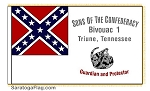 SONS OF CONFEDERATE VETERANS Custom Flag