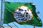 -- Saratoga County Flag - 3x5ft Nylon