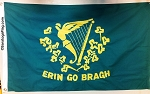 Erin Go Bragh- Irish Civilian Civil War Flag