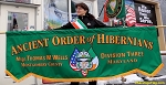 ...Custom PARADE BANNER- Ancient Order of Hibernians-PRINTED POLY-Canvas