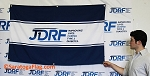 .JDRF- Custom WALL BANNER- 3x5 FT - Digital Print Fabric