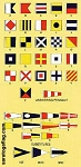 SIGNAL FLAGS- Complete Nautical Set