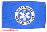 EMS - EMERGENCY MEDICAL SERVICE FLAG