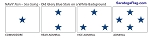 MILITARY OFFICER FLAGS - NAVY White Non-seagoing