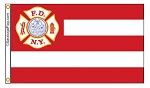 NYC FIRE DEPARTMENT Flag - FDNY