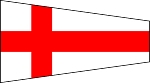 SIGNAL FLAG- Pennant-8-Eight