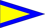 SIGNAL FLAG- Pennant-First Repeater