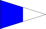 SIGNAL FLAG- Pennant-Second Repeater