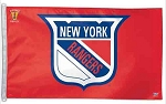 NEW YORK RANGERS- FLAG (Red)