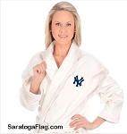 NYY- DELUXE TERRY ROBE - New York Yankees