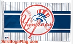 NYY- New York Yankees Old Logo FLAG