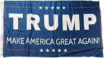 ...TRUMP- Make American Great Again FLAG- Blue-SOLD OUT