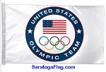 Olympics - United States Olympic Team Flag