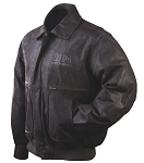 NRA LEATHER JACKET- National Rifle Association, Life Membership