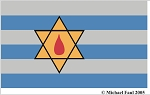 HOLOCAUST MEMORIAL REMEMBRANCE FLAG